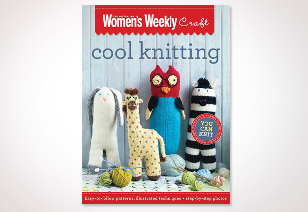 Win 1 of 35 copies of new craft title Cool Knitting
