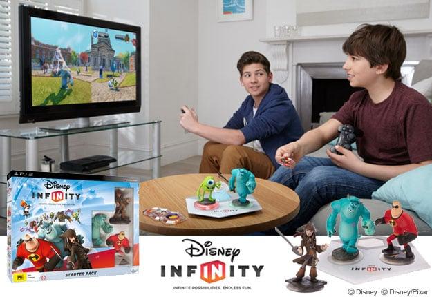 WIN 1 of 2 Disney Infinity PS3 packs