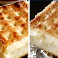 Lattice Slice with Cheesecake Filling