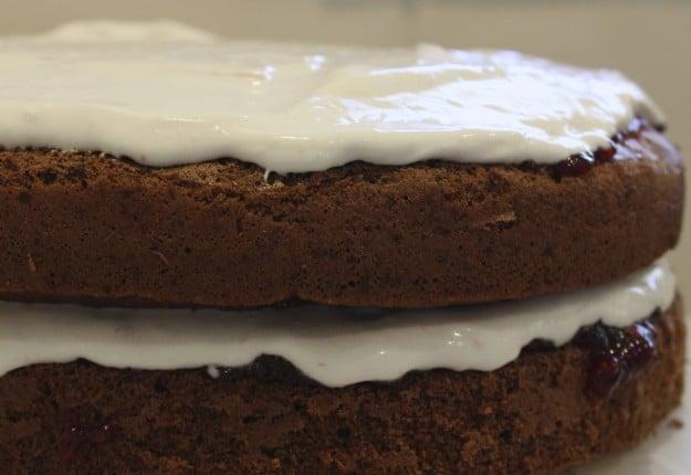 Dairy-Free Chocolate Sponge Cake