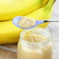 Pear and Banana Puree