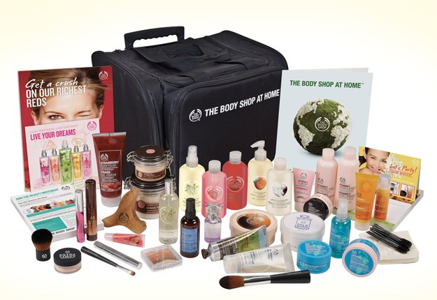 Win THE BODY SHOP AT HOME™ starter kit