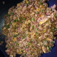 Pork mince fried rice