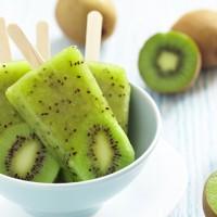 Kiwi Fruit Popsicles