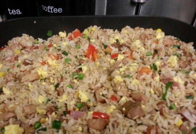 Nats speshul fried rice