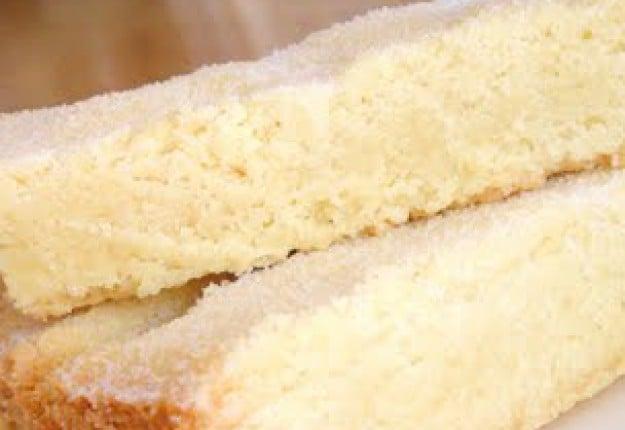Melt and mix shortbread