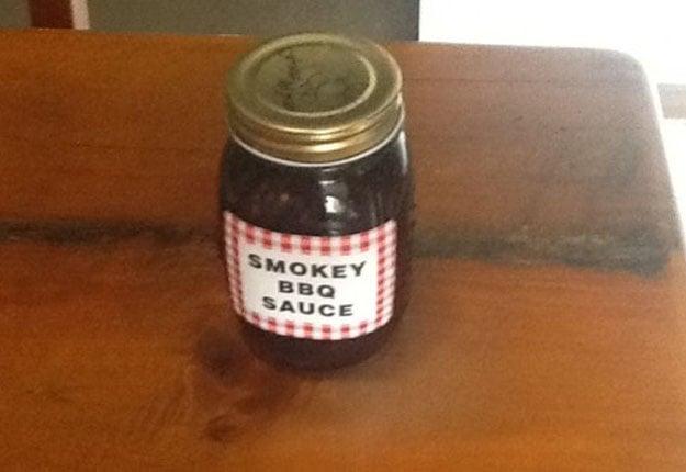 Smoky barbecue sauce
