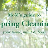 The MoM guide to 'Spring Cleaning' your home, mind & body