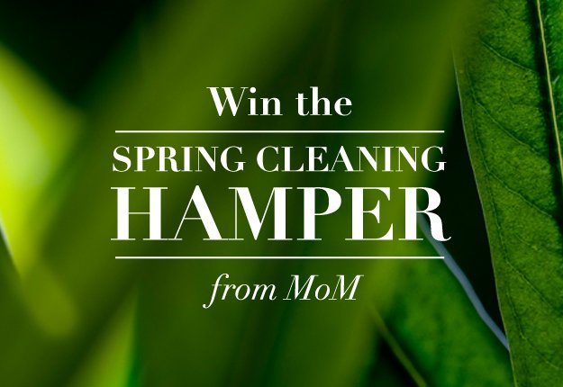 WIN the Spring Cleaning hamper from MoM
