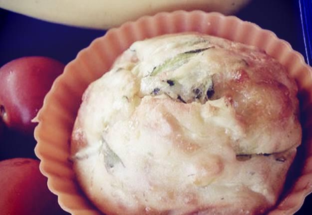 Zucchini and corn savoury muffin recipe