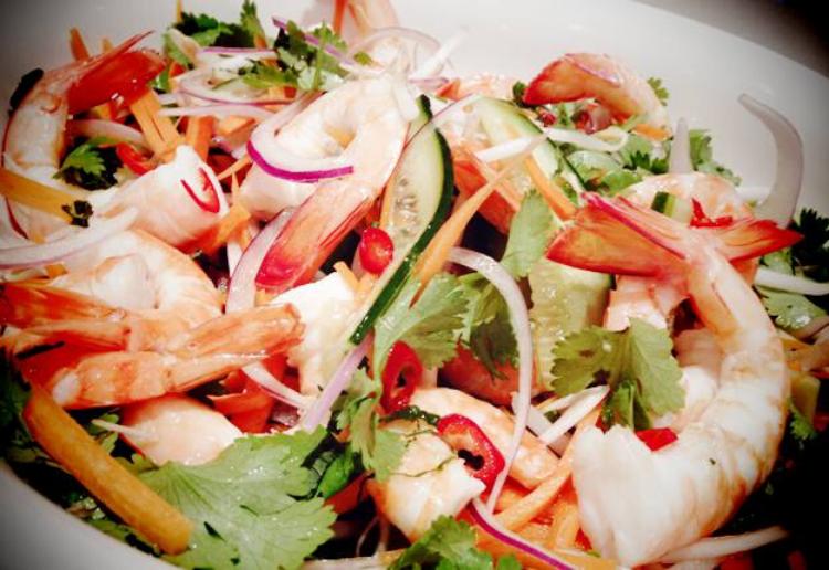 Asian Prawn Salad Recipe