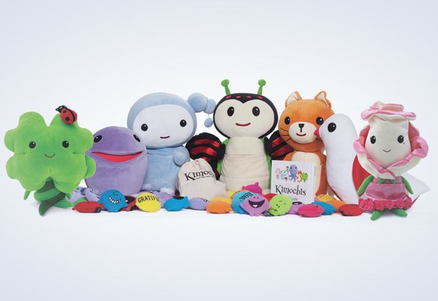 WIN 1 of 5 Kimochis… toys with feelings inside!