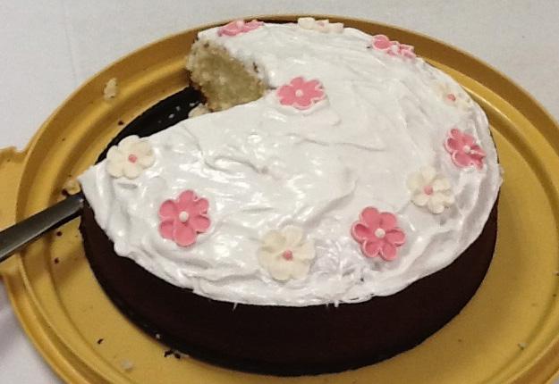 Basic cake with icing