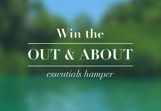 WIN the Out & About essentials hamper