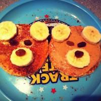 Toddler's Teddy Bear Toast