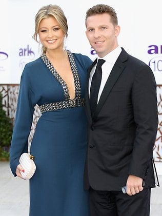 Holly Valance and her boyfriend Nick Candy at the ARK gala dinner. Picture: Chris Jackson/Getty Images Source: Getty Images