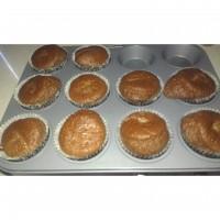 Cheat's 2 ingredient chocolate cream cheese muffins