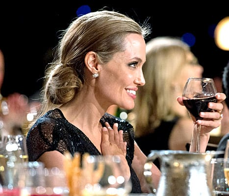 Angelina Jolie at the Governors Awards, where she was honored with the Humanitarian Award.