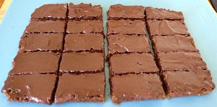 Super Quick, Super Easy Chocolate Weetbix Slice