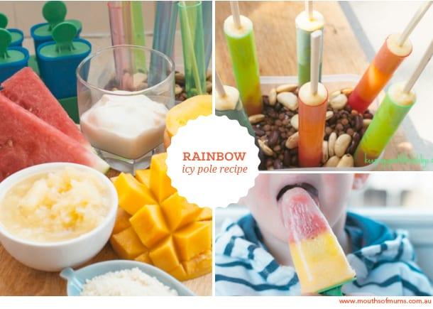 rainbow ice block recipe