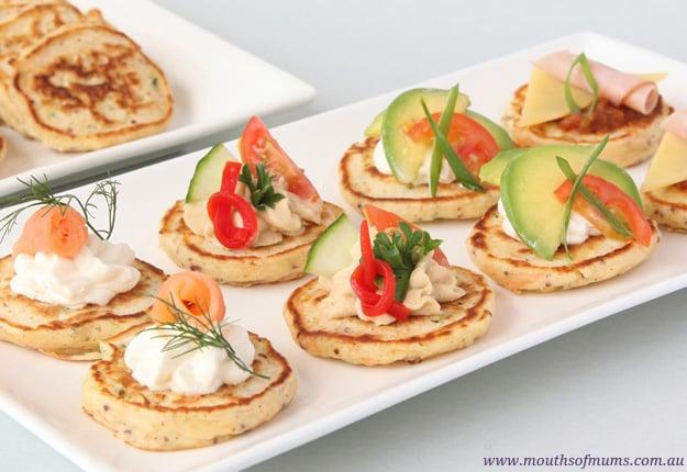 Savoury Pikelets Recipe