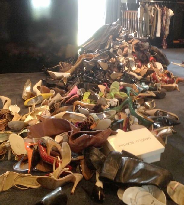 Victoria Beckhams shoe collection