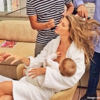 Breastfeeding like a supermodel