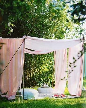 Garden inspiration - myo tent