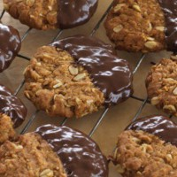 Chocolate Dipped ANZACS