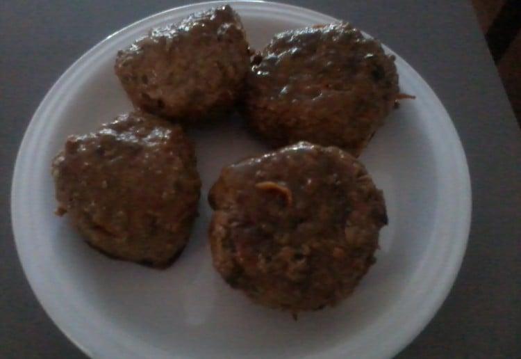Homemade Beef Rissoles.
