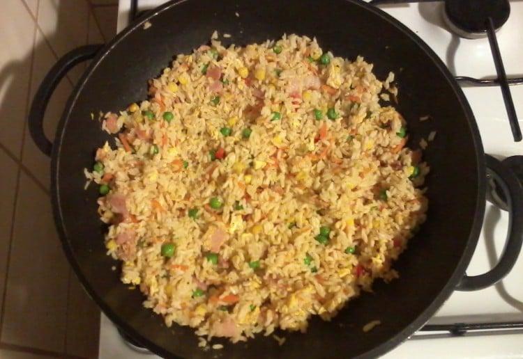 Smoked Chicken Fried Rice