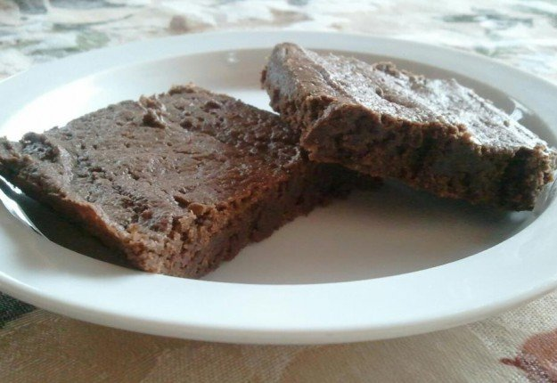 Chewy Chocolate Squares