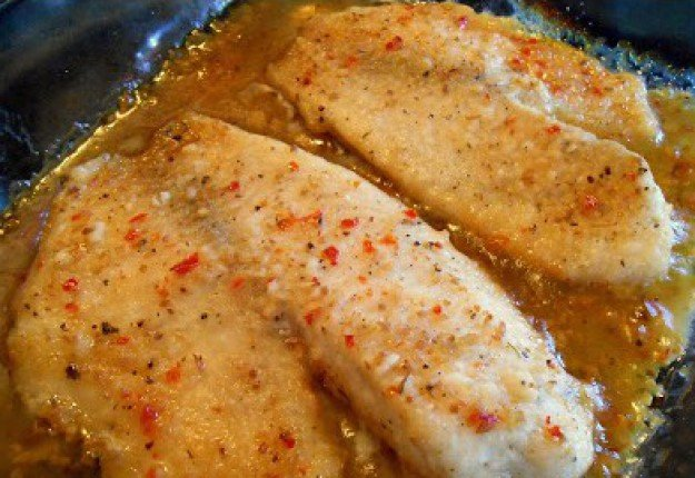 Italian baked zesty fish