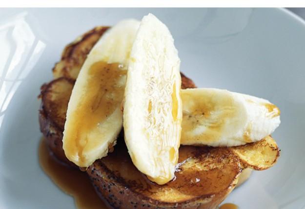 Cinnamon and Banana French Toast