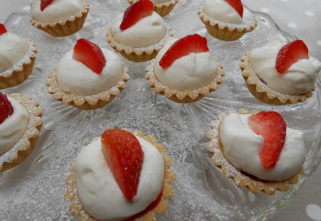 Strawberry Choc Tartlets