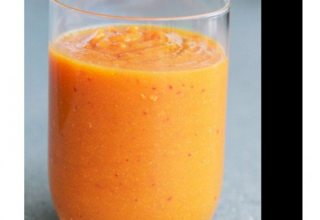 Malted Honey and Apricot Smoothie