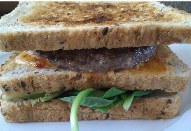 Hamburger sandwich