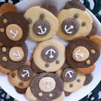 Smiling Teddy Bear Biscuits