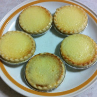 Pineapple cheese tarts