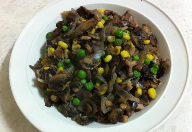 Mushroom Peas