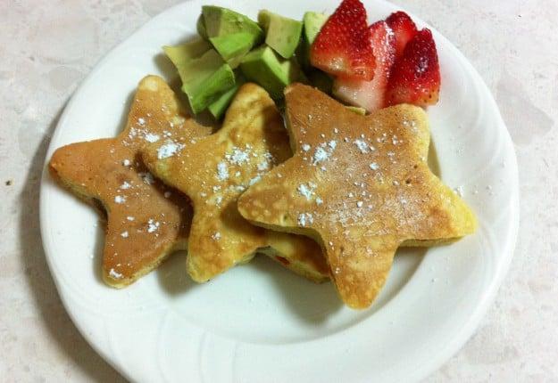 Goji Berries Pancakes