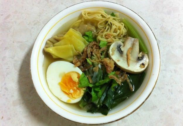 Wonton Noodle Soup