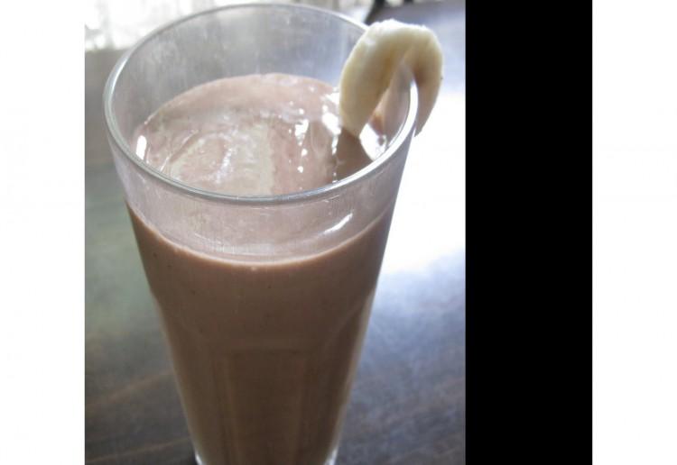 Banana Choc Breakfast Shake