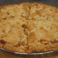 Crumble Top Apple Pie