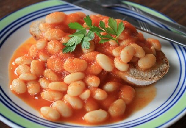 Yummy homemade baked beans
