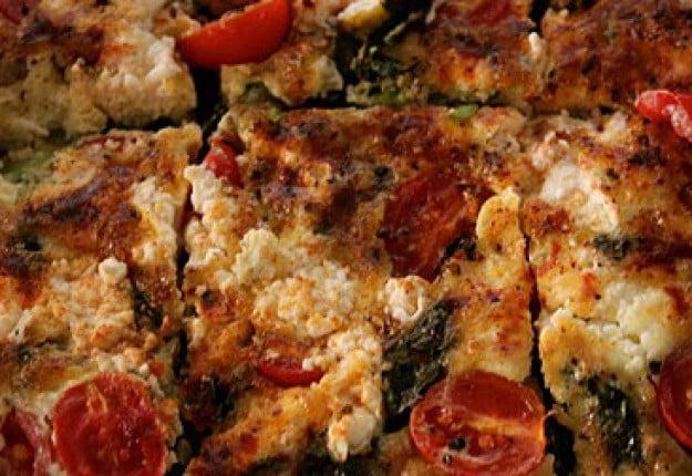 Vegetable and Feta Frittata