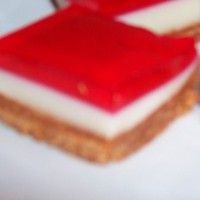 Strawberry Jelly Slice