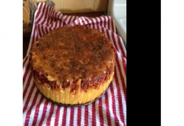 Pasta Bolognese Pie