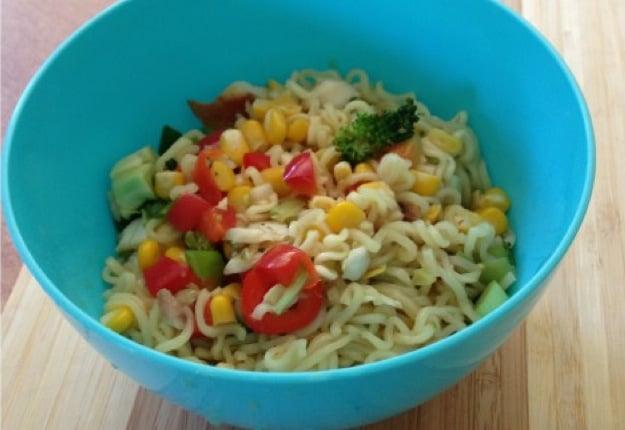 Toddler proof noodles