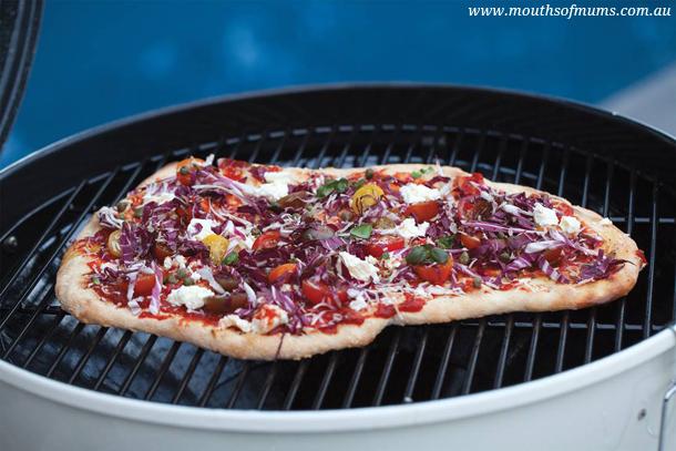 grilled pizza bread recipe